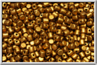 MINOS® PAR PUCA®, 3x2,5mm, gold, brass, met., satin, 50 Stk.